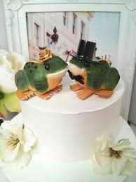 sale anniversary little frog in love wedding cake topper small