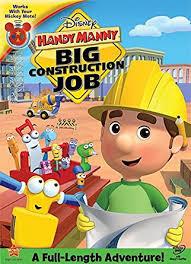 amazon handy manny big construction job handy manny movies