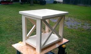 Rustic End Tables Rustic End Table Designs Doozie Me