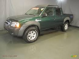 nissan frontier king cab for sale 2001 nissan frontier xe v6 crew cab 4x4 in alpine green metallic