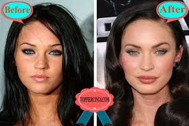 megan fox plastic surgery before and after megan fox tattoos