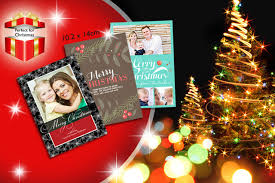 25 personalised christmas cards