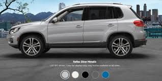 2017 volkswagen tiguan colors and pricing