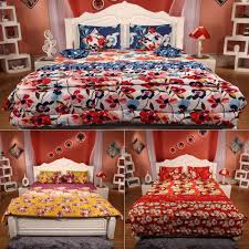 Purchase Bed Online India Complete 10 Pc Bed Set By Bella Casa Bed Sheets Homeshop18
