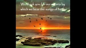 prayer about thanksgiving prayers for mother earth youtube