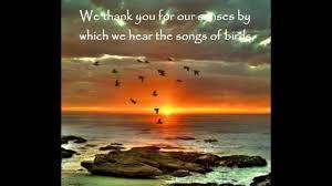 short prayer thanksgiving prayers for mother earth youtube