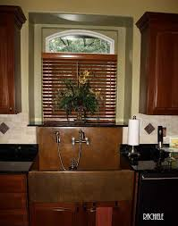 Apron Sink With Backsplash by Copper Sinks With Integral Back Splashes By Rachiele