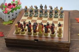 ancient chess high quality chess set the ancient arabian resin characters dolls