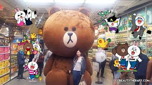 Line Store Store Visit Line Friends New York City Times Square Ceci