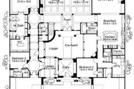 floor plans with courtyards 17 spanish mediterranean floor plans spanish mediterranean house