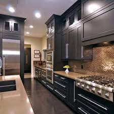 Black Kitchen Cabinet Ideas by Espresso Kitchen Cabinets Love Them Not Too Crazy About The