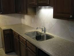 Large Tile Backsplash Kitchen Home Design Ideas - Large tile backsplash