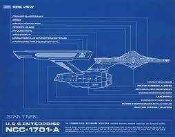 star trek blueprint collection a portfolio set of 8 authorized 11