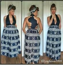 dress african dress african print black dress maxi dress