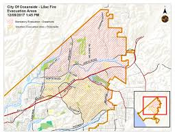 Caltrans District Map Important Lilac Fire Updates City Of Oceanside Caltrans Nctd