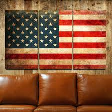 wall arts large wooden american flag wall wooden american