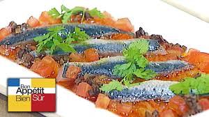 cuisiner des sardines fraiches recette sardines fraîches marinées compotée d oignon et poivron