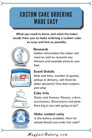 cake order how to order a custom cake