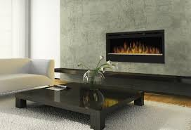 Electric Wall Fireplace Living Room Electric Wall Fireplace Ideas With Wall Mount Above