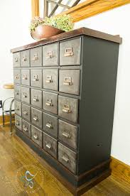 apothecary dresser vintage apothecary cabinet makeover designed decor