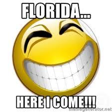 Smiley Face Memes - florida here i come smiley face meme generator