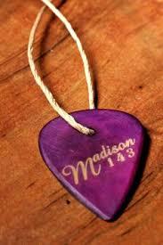 Engraved Guitar Pick Necklace Engraved U0026 Antiqued Copper Guitar Pick Necklace Dave Matthews