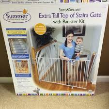 Best Gate For Top Of Stairs With Banister Find More Summer Infant Sure And Secure Extra Tall Top Of Stairs