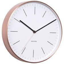 minimalist wall clock large modern u0026 designer wall clocks red candy