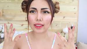 Makeup Artist In Long Island Youtube Star Shows How To Use Food As Makeup Abc7 Com