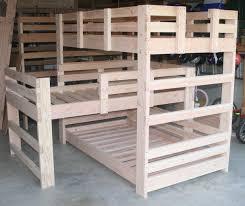 triple bunk bed plans sweet mygreenatl bunk beds triple bunk
