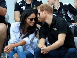 prince harry and meghan markle at invictus games 2017 popsugar