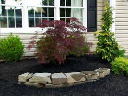 landscape wonderful rock landscaping ideas surprising black and