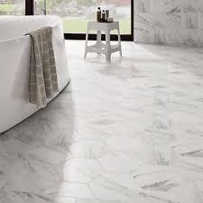 floor wall tile 25 marmol carrara hex porcelain hexagon shape