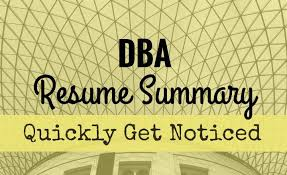 Database Administrator Resume Get Your Database Administrator Resume Noticed With A Compelling