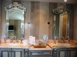 Design Ideas For Brushed Nickel Bathroom Mirror Bathroom Design Wonderful Cheap Bathroom Mirrors Long Vanity