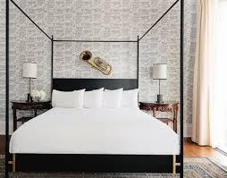 Modern Bedrooms Designs 2014 Furniture Mid Century Brown Wood Panel Bed Frame Design Idea As