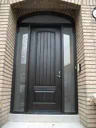 Exterior Door With Side Lights Marvin Front Door With Transum And Side Light Search