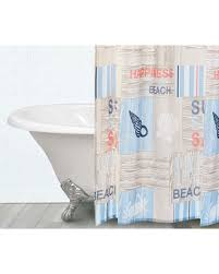 Seashell Fabric Shower Curtain Here S A Great Price On Living Colors Front Seashell Fabric