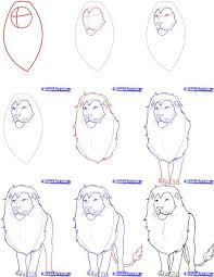 25 roaring lion drawing ideas lion drawing