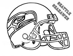 seattle seahawks helmet coloring page for pages diaet me