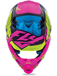 pink motocross helmets fly racing hi viz pink f2 carbon mips retrospec mx helmet fly
