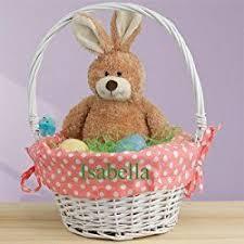 personalized wicker easter baskets 77 best personalized easter egg baskets images on easter