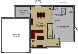 1 story house plans with basement basement floor plans rental house and basement ideas