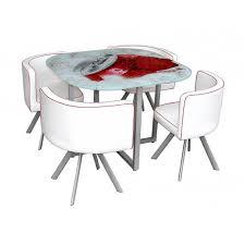 table et 4 chaises soda ensemble table 4 chaises