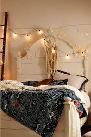 beautiful white string lights for bedroom also christmas in