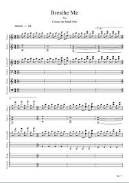 Chandelier Sia Piano Sheet Music Sia Breathe Me Scribd Piano Sheet Pinterest Pianos