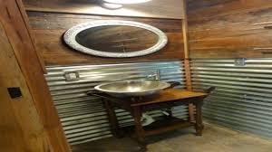 small half bath ideas rustic tin bathroom sink vanities small