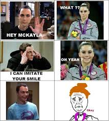 Maroney Meme - sheldon cooper vs mckayla maroney meme by nawafwaleed memedroid
