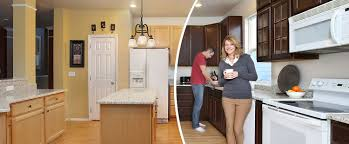Changing Color Of Kitchen Cabinets Cabinet Color Change N Hance