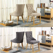 Linen Dining Chair Linen Dining Room Chairs Ebay